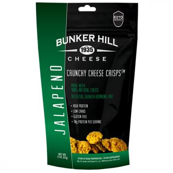 Bunker Hill - Jalapeno Crunchy Cheese Crisps