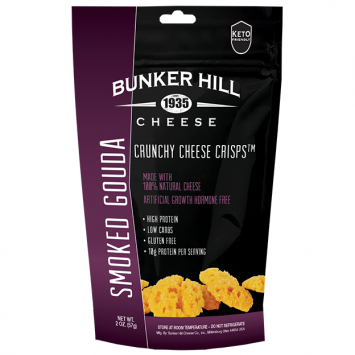 Bunker Hill - Smoked Gouda Crunchy Cheese Crisps