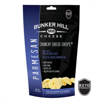 Bunker Hill - Parmesan Crunchy Cheese Crisps