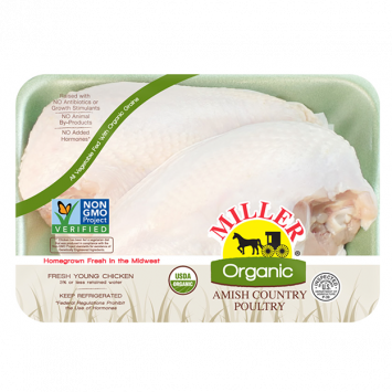Miller Organic Chicken - Split Breast