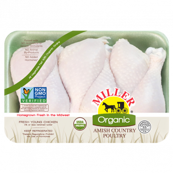 Miller Organic Chicken - Drumsticks
