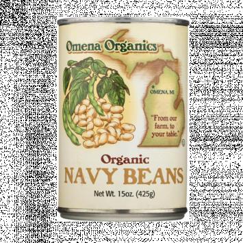 Omena Organics - Beans, Navy