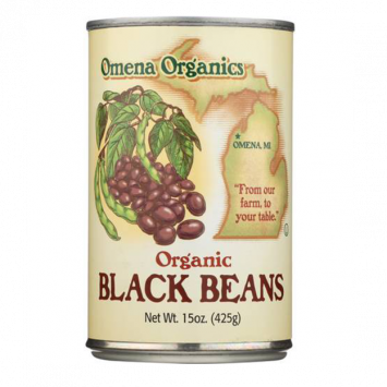 Omena Organics - Beans, Black