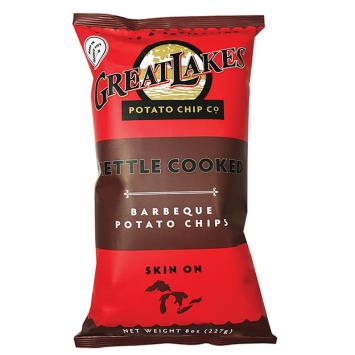 Great Lakes NON-GMO Potato Chips - BBQ 16 oz