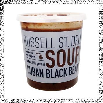 Russell Street Deli - Cuban Black Bean Soup