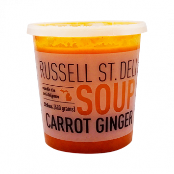 Russell Street Deli - Carrot Ginger Soup