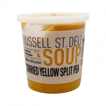 Russell Street Deli - Curried Yellow Split Pea Soup