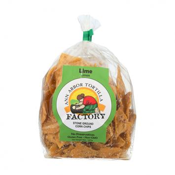 Ann Arbor Tortilla Factory  - Chips, Lime 8oz