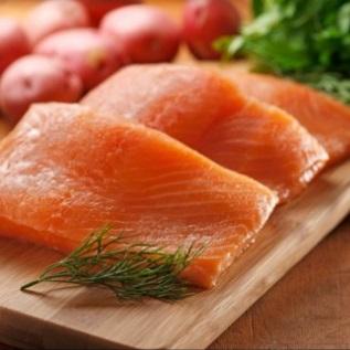 Wild Coho Salmon, Small Fillet