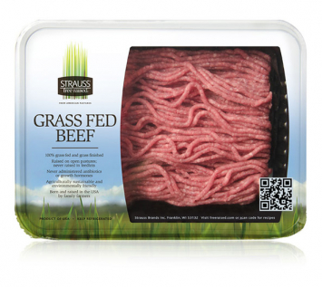Strauss Grass Fed, Organic Ground Beef