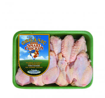 Smart Chicken Organic Party Wings