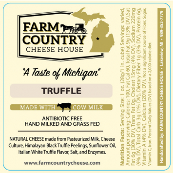 Farm Country Amish Cheese - Truffle Cheese