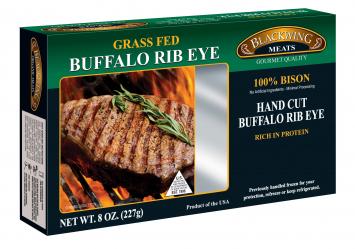 Blackwing Grass Fed Buffalo Rib Eye Steak