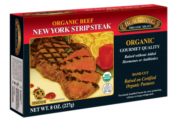 Blackwing Organic Beef NY Strip Steak