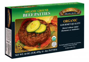 Blackwing Organic Beef Patties