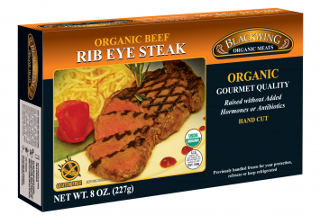 Blackwing Organic Beef Rib Eye Steak