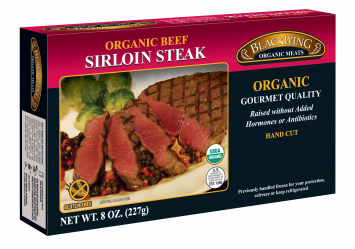 Blackwing Organic Beef Sirloin Steaks
