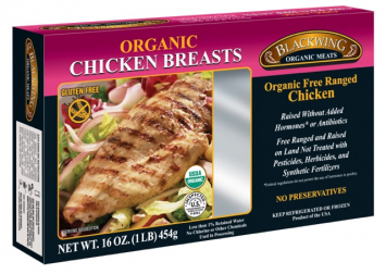 Blackwing Organic Boneless Skinless Chicken Breasts