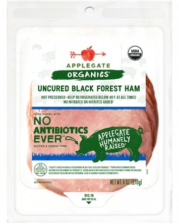 Applegate Organics — Certified Organic Uncured Black Forest Ham