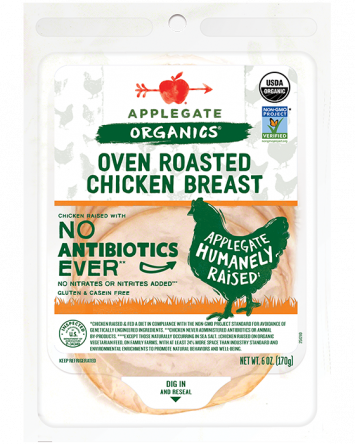 Applegate Organics — Certified Organic Smoked Chicken Breast