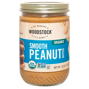 Woodstock Foods — Certified Organic Smooth Peanut Butter