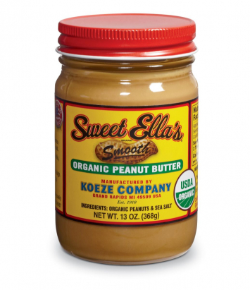 Sweet Ella's Organic Smooth Peanut Butter