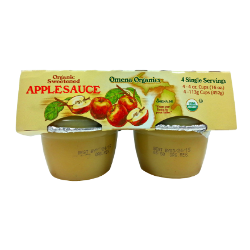 Omena Organics — Organic Sweetened Applesauce
