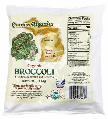 Omena Organics - Broccoli