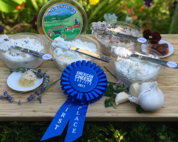 Idyll Farms - Idyll Pastures Spreadable Goat Cheese, Garlic and Herb