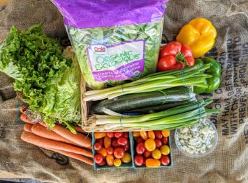 Salad Essentials - Produce Box/Subscription Bundle - Large Family Value