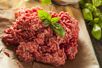 Michigan Organic Beef from Zimba Farm - 80-85% Lean Ground Beef (25 lbs)