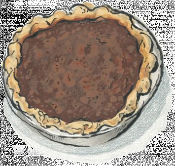 Zingerman's Chocolate Chess Pie