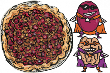 Zingerman's Cranberry Walnut Pie