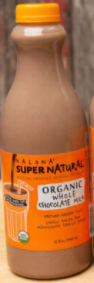 Kalona Super Natural - Organic Chocolate Milk, Quart