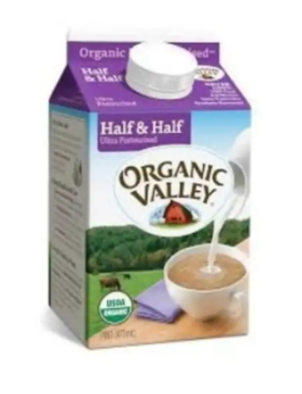 Organic Valley - Half & Half - 1 Pint