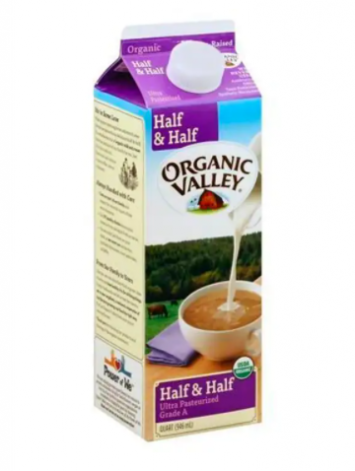 Organic Valley - Half & Half - 1 Quart