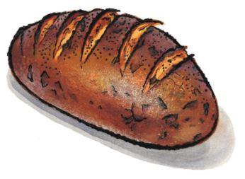 Onion Rye Loaf