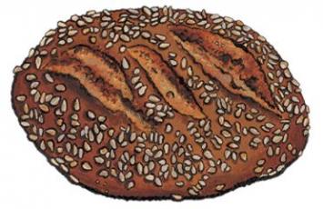 8-Grain 3-Seed Bread