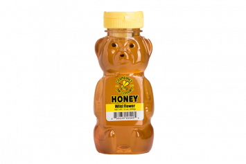 Wildflower Honey Bear Bottle