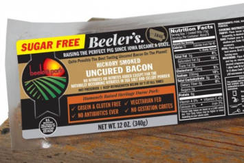 "Hickory Smoked, Uncured, Sugar Free ""Keto"" Bacon"