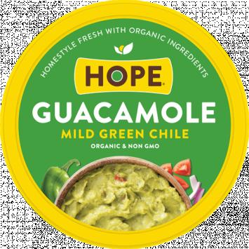 Organic Guacamole, Mild Green Chile