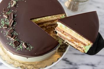 Mint Chiffon Cake