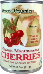 Organic Montmorency Cherries