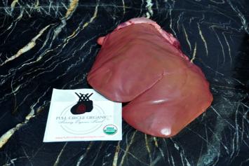 Organic Lamb Liver
