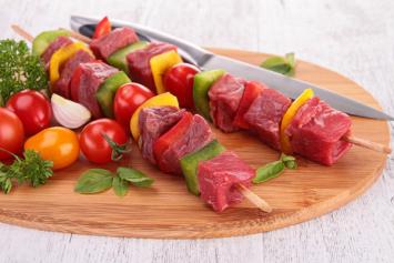 Seasoned Beef Kebab