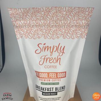 Organic Breakfast Blend, 4 oz. Ground Coffee