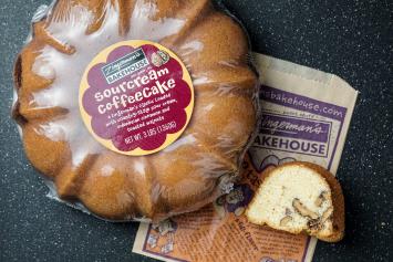Sourcream Coffee Cake, Large