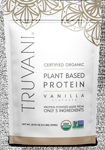Organic Vanilla Protein Powder, Plant-Based
