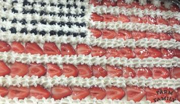 American Flag Fruit Pizza