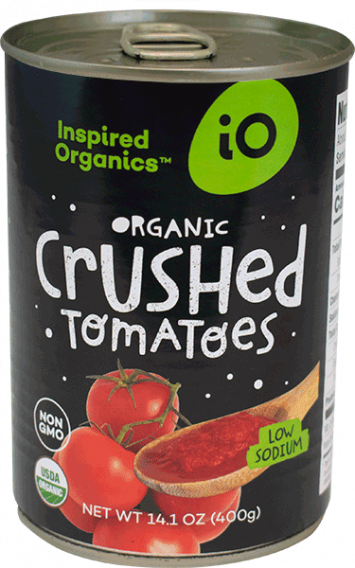 Organic Crushed Tomatoes, Case